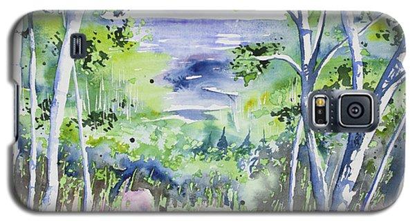 Watercolor - Lake Superior Impression Galaxy S5 Case