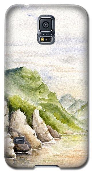 Watercolor Landscape Plein Air Galaxy S5 Case