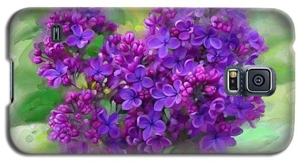 Watercolor Lilac Galaxy S5 Case