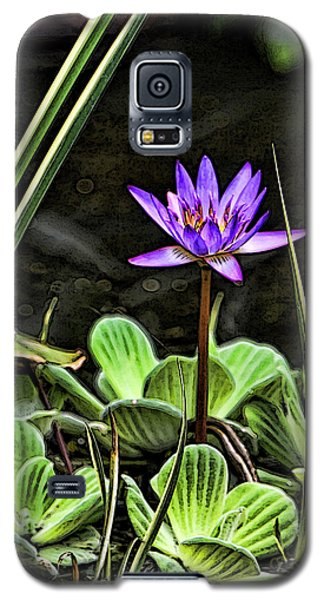 Watercolor Lily Galaxy S5 Case