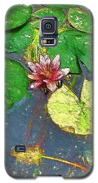 Watercolor Lily Galaxy S5 Case