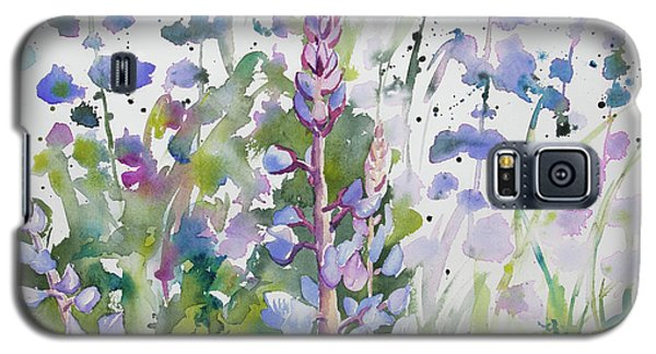 Watercolor - Lupine Wildflowers Galaxy S5 Case