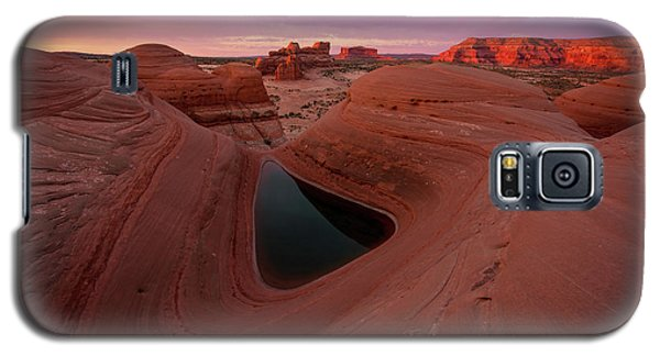 Galaxy S5 Case featuring the photograph Watercolor Morning by Dustin LeFevre