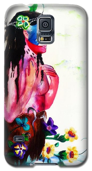 Watercolor Of Chippewa In The Water By Ayasha Loya Galaxy S5 Case