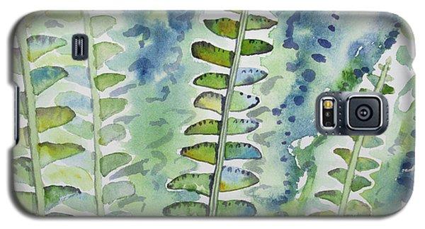 Watercolor - Rainforest Fern Impressions Galaxy S5 Case