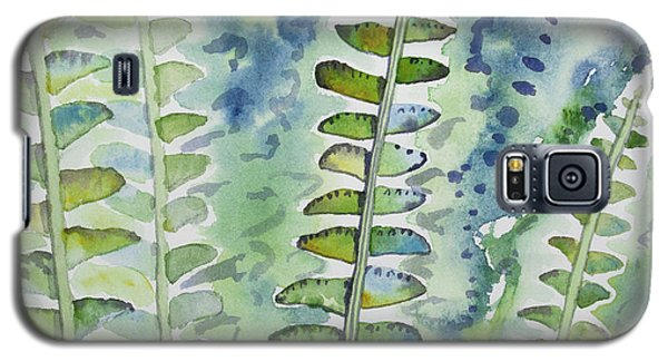 Watercolor - Rainforest Fern Impressions Galaxy S5 Case