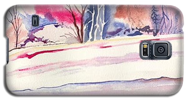 Watercolor River Galaxy S5 Case by Darren Cannell