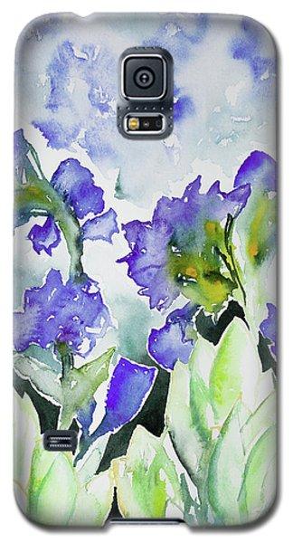 Watercolor - Rocky Mountain Wildflowers Galaxy S5 Case