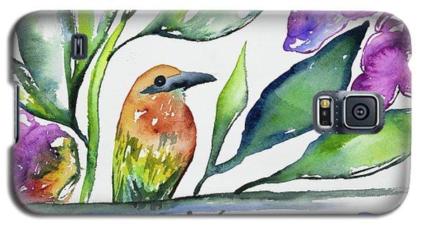 Watercolor - Rufous Motmot Galaxy S5 Case