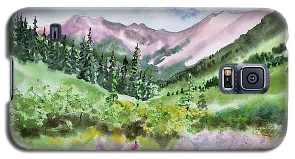 Watercolor - San Juans Mountain Landscape Galaxy S5 Case