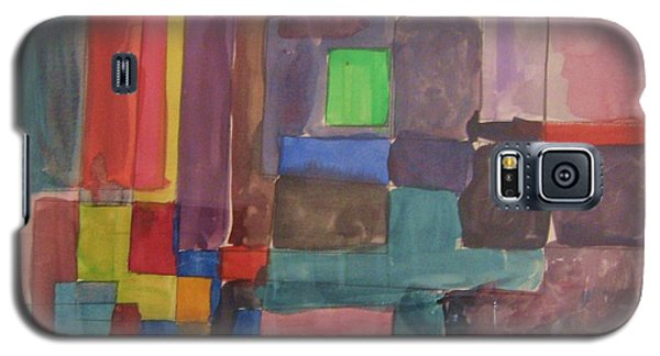 Galaxy S5 Case featuring the painting Watercolor Shapes by Barbara Yearty