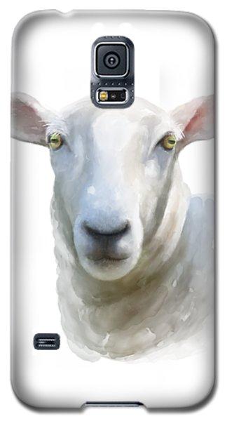 Watercolor Sheep Galaxy S5 Case