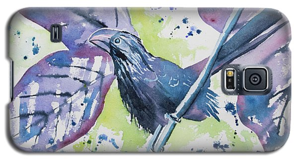 Watercolor - Smooth-billed Ani Galaxy S5 Case