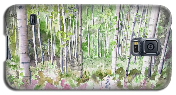 Watercolor - Summer Aspen Glade Galaxy S5 Case