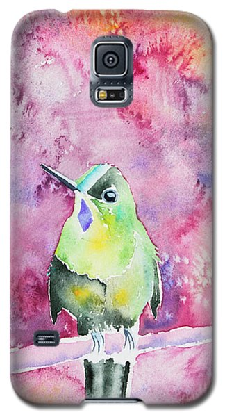 Watercolor - Violet-tailed Sylph Galaxy S5 Case
