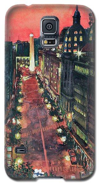 Watercolors-01 Galaxy S5 Case by Bernardo Galmarini