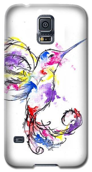 Watercolour Hummingbird Galaxy S5 Case