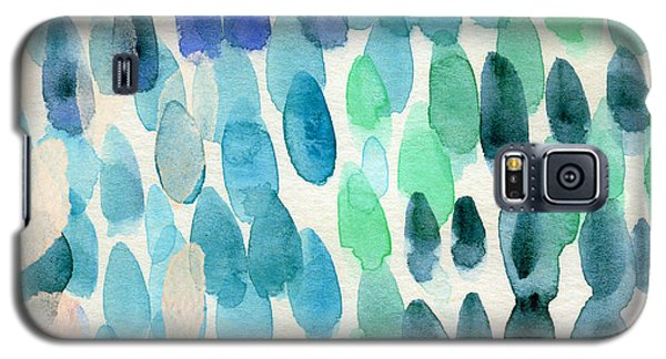 Waterfall 2- Abstract Art By Linda Woods Galaxy S5 Case