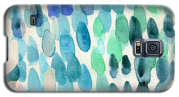 Card Galaxy S5 Case - Waterfall 2- Abstract Art By Linda Woods by Linda Woods