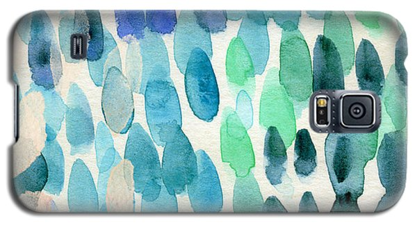 Beach Galaxy S5 Case - Waterfall 2- Abstract Art By Linda Woods by Linda Woods