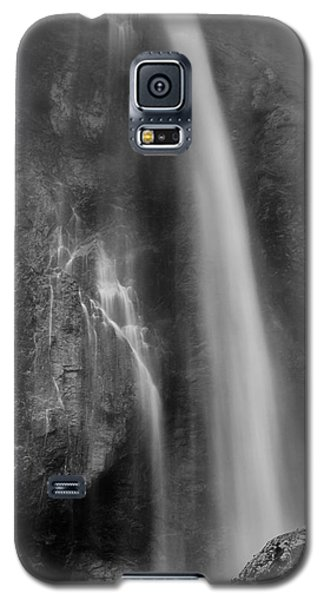 Waterfall 5830 B/w Galaxy S5 Case