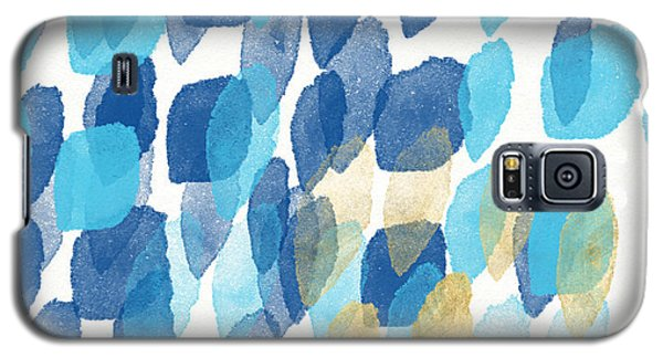 Card Galaxy S5 Case - Waterfall- Abstract Art By Linda Woods by Linda Woods