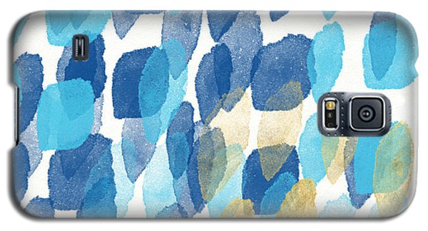 Beach Galaxy S5 Case - Waterfall- Abstract Art By Linda Woods by Linda Woods