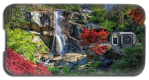 Waterfall At Maymont Galaxy S5 Case by Rick Berk