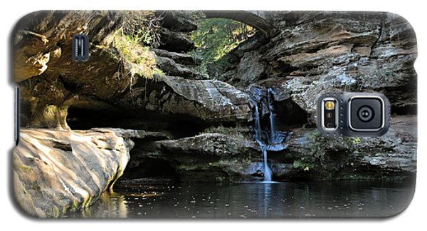 Waterfall At Old Man Cave Galaxy S5 Case