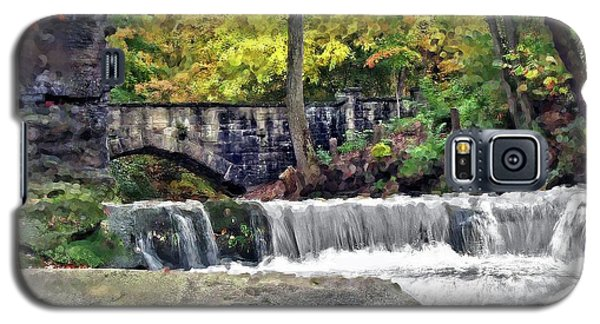 Waterfall At Olmsted Falls - 1 Galaxy S5 Case
