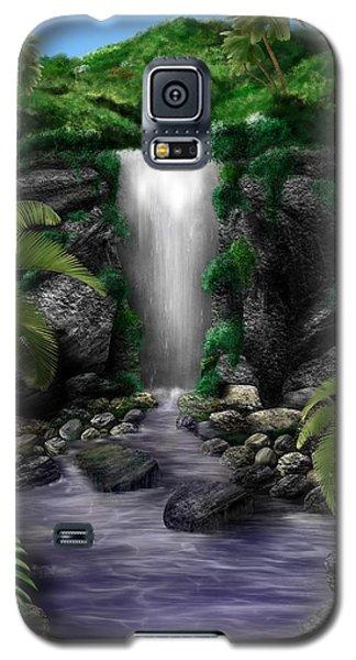 Waterfall Creek Galaxy S5 Case