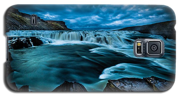 Waterfall Drama Galaxy S5 Case