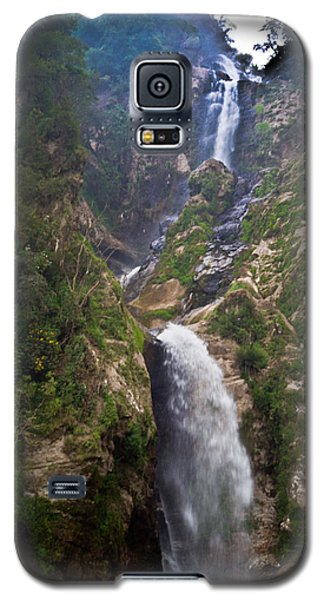 Waterfall Highlands Of Guatemala 1 Galaxy S5 Case