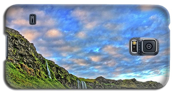 Galaxy S5 Case featuring the photograph Waterfall Hill by Scott Mahon