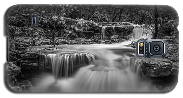 Waterfall In Austin Texas - Square Galaxy S5 Case
