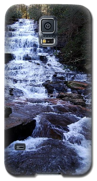 Waterfall In Georgia Galaxy S5 Case by Angela Murray