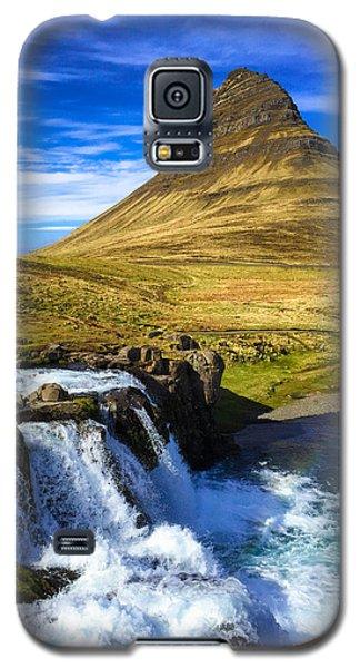 Amazing Galaxy S5 Case - Waterfall In Iceland Kirkjufellfoss by Matthias Hauser