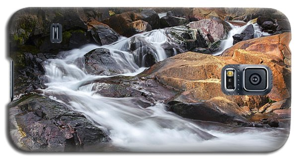 Waterfall In Lee Vining Canyon 2 Galaxy S5 Case