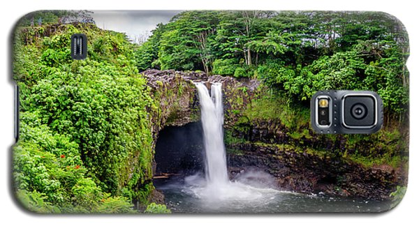 Waterfall Into The Valley Galaxy S5 Case