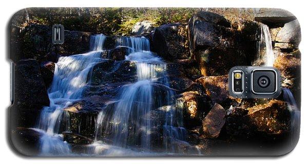 Waterfall, Whitewall Brook Galaxy S5 Case