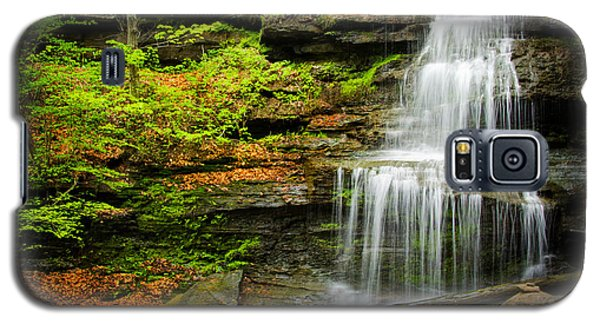 Waterfalls On Little Three Mile Run Galaxy S5 Case