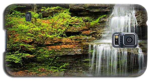Waterfalls On Little Three Mile Run Galaxy S5 Case