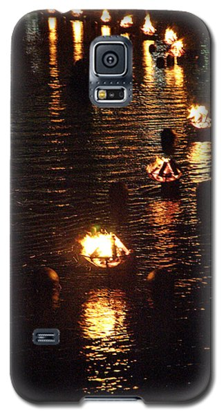 Waterfire Lights Galaxy S5 Case