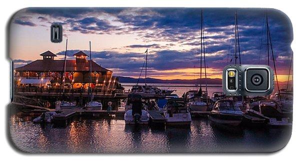 Waterfront Summer Sunset Galaxy S5 Case