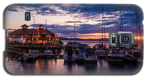 Waterfront Summer Sunset Galaxy S5 Case