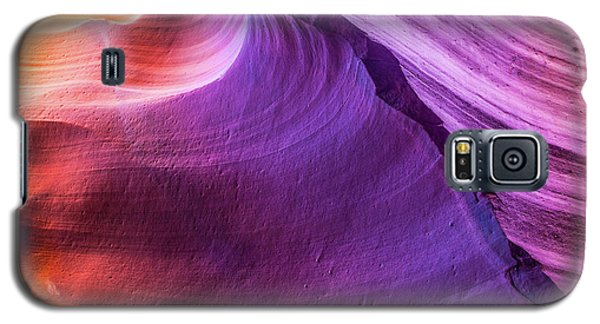 Waterhole Canyon Wave Galaxy S5 Case