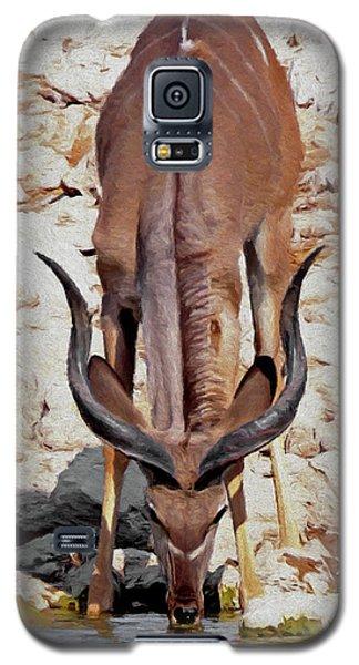 Waterhole Kudu Galaxy S5 Case by Ernie Echols