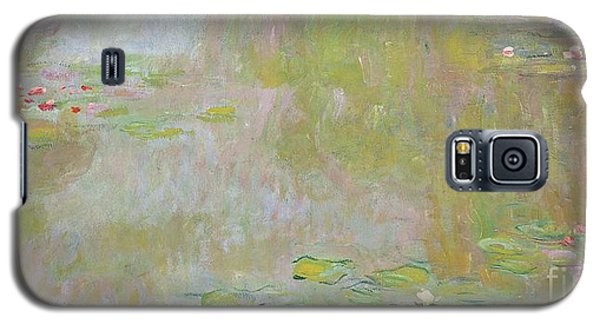 Waterlilies At Giverny Galaxy S5 Case by Claude Monet