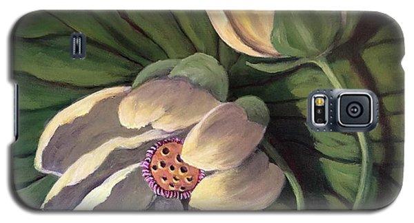 Waterlily Like A Clock Galaxy S5 Case