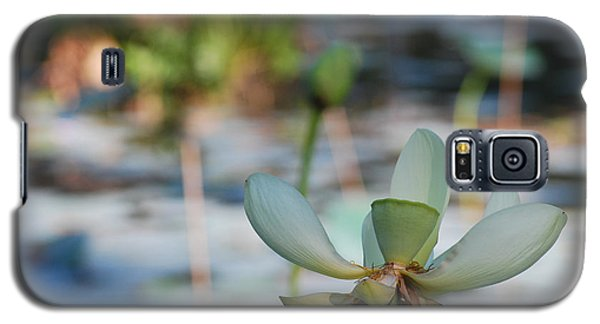 Waterlily Wash Horizontal Galaxy S5 Case by Heather Kirk